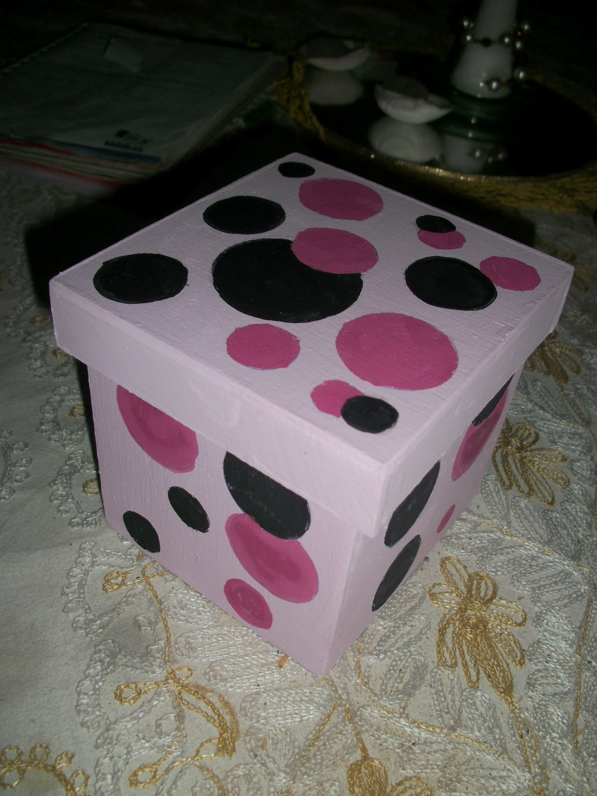 Estilocolor cajas decoradas motivos infantiles - Cajas con motivos navidenos ...