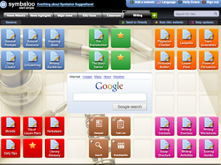 screen shot of symbaloo page