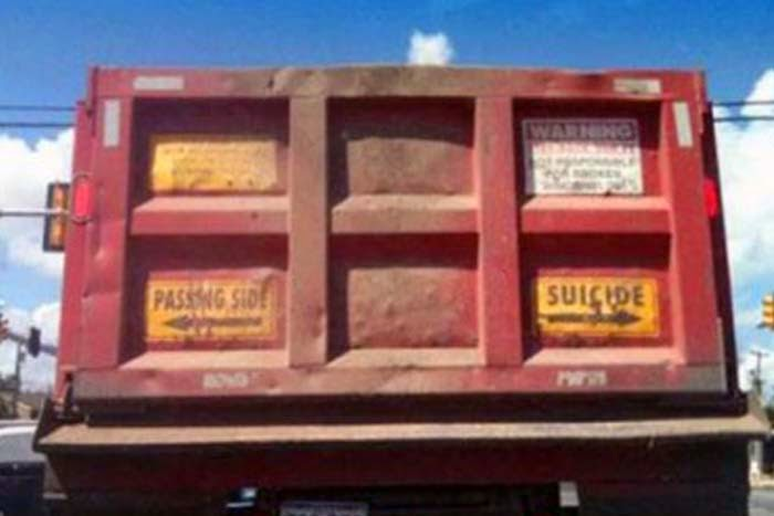 Funny English Texts on Trucks in India