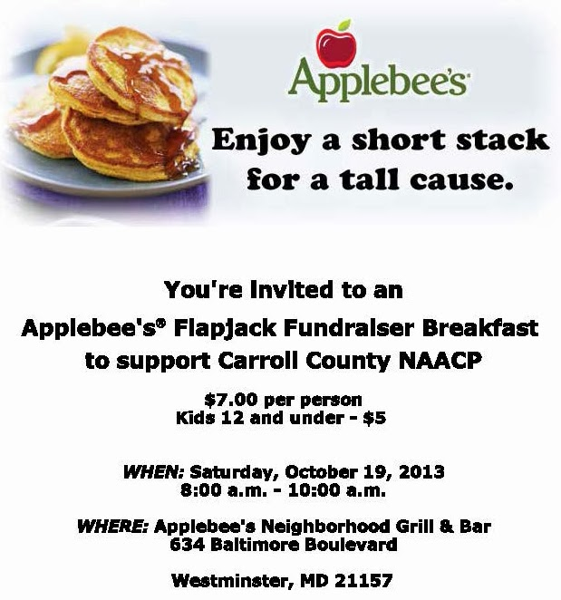 Applebee s flapjack fundraiser flyer template