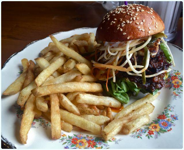 Tomfoolery at 34 - Burgers