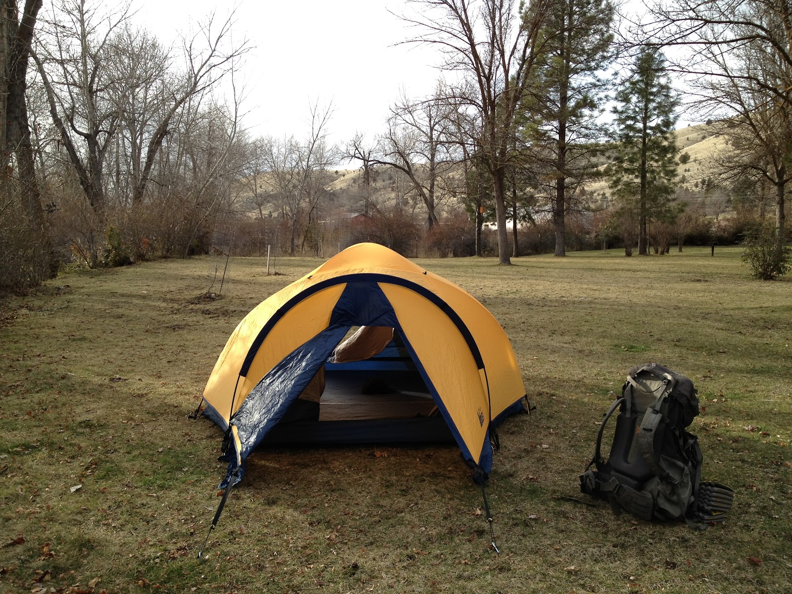 Tent Camping Near John Day Fossil Beds