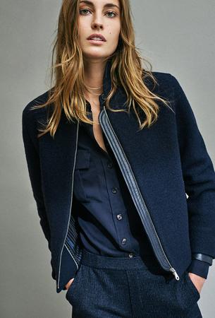 Massimo Dutti mujer nueva colección chaqueta, camisa y pantalón