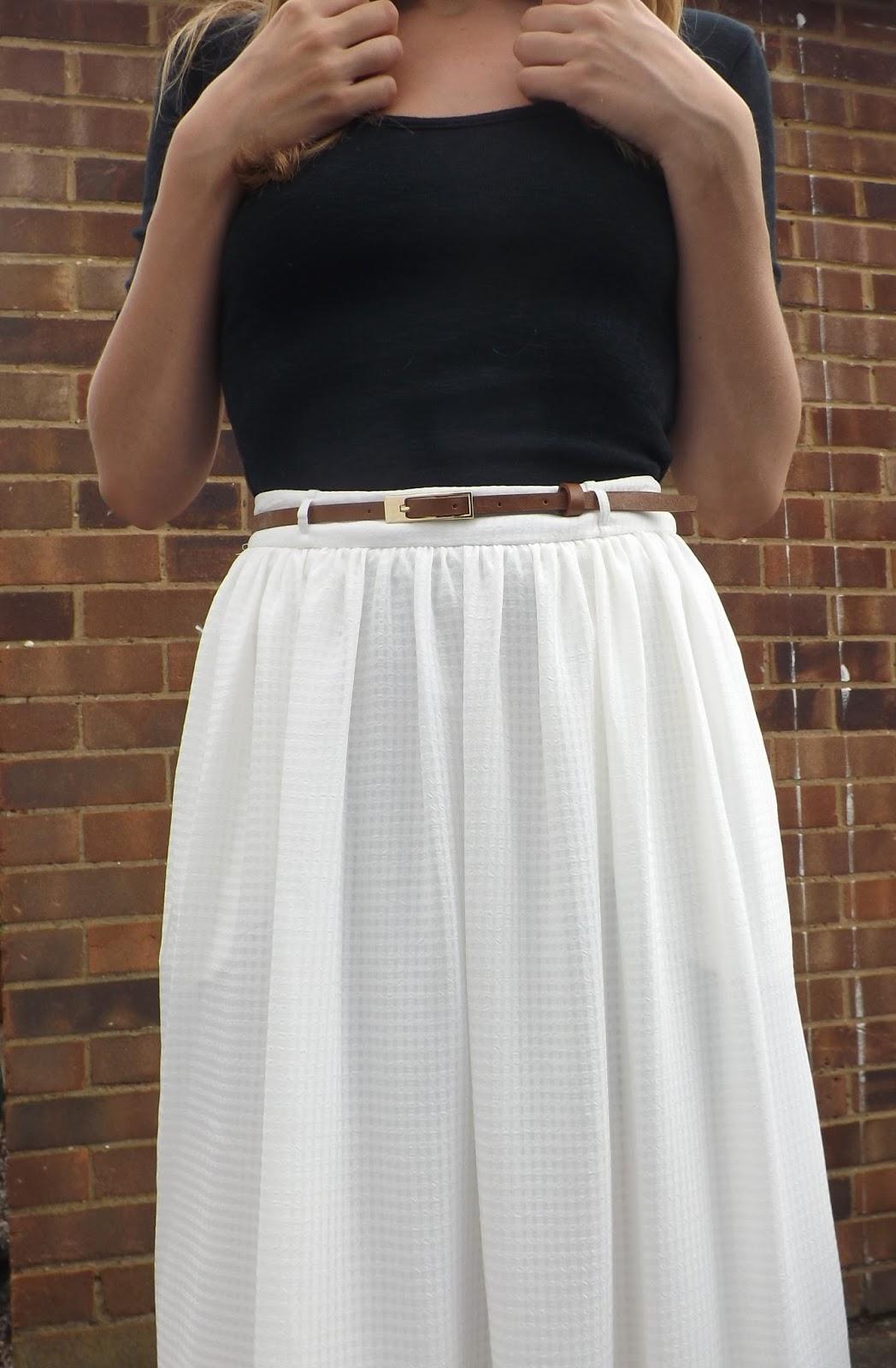 Floaty Midi Skirt - Lottie Pearce