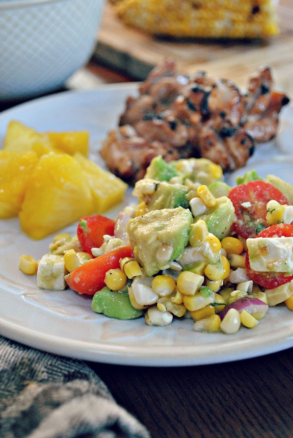 ... Garden: Avocado and Grilled Corn Salad with a Cilantro Vinaigrette