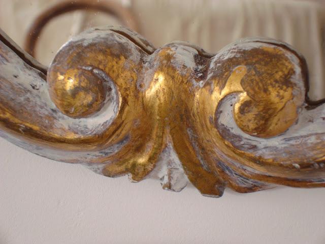 venta de espejos dorados. Tienda decoración online vintage valencia-españa