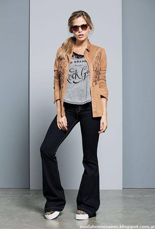 Pantalones oxford invierno 2015 moda mujer.
