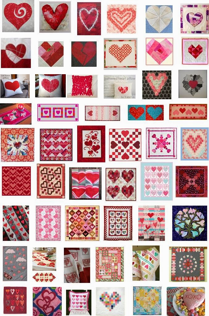 Quilt Inspiration: Free pattern day: Hearts and Valentines part 3 : quilt inspiration free patterns - Adamdwight.com
