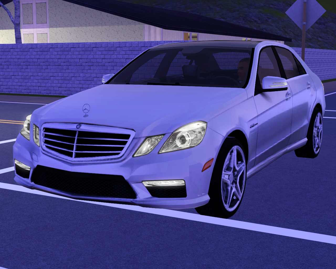 my sims 3 blog 2011 mercedes benz e63 amg by fresh prince. Black Bedroom Furniture Sets. Home Design Ideas