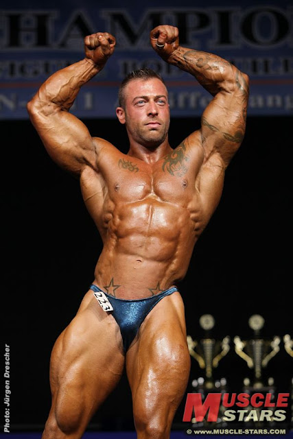 World Bodybuilders Dutch Bodybuilder Chris Koldijk