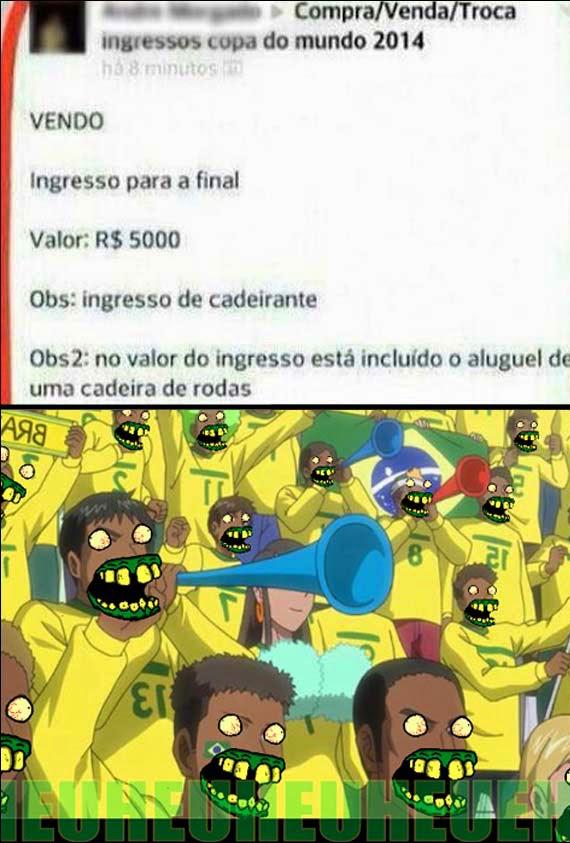PROMOÇÃO Ingresso para a final da copa - Publicitário13