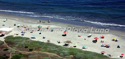 Sábado 2 de Marzo, Vista Playa Luna