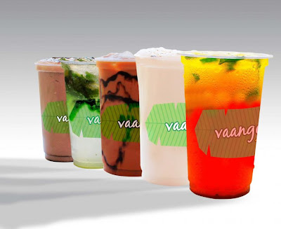 Special summer drinks at vaango's