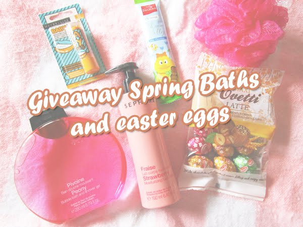 Giveaway | Spring Bath Kits and easter eggs