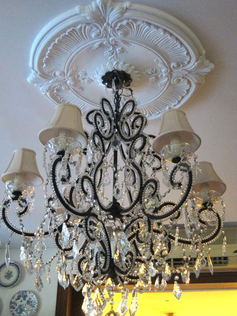 No doors a new chandelier medallion a new chandelier medallion aloadofball Image collections