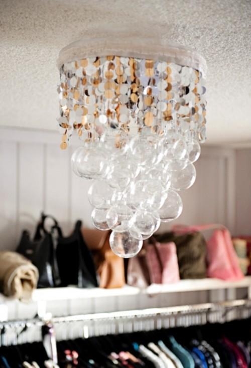 Lovely Creative and Cool DIY Chandelier Designs alt ud