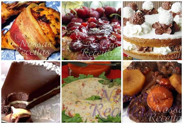 Receitas e cardápios para o Almoço Dia das Mães