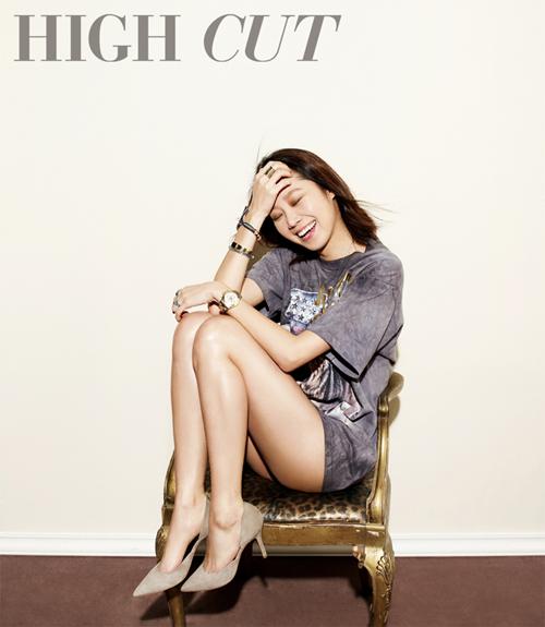 Gong Hye Jin High Cut 02