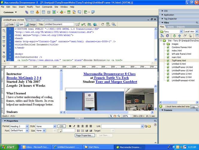 Editor gr fico de html para la creaci n visual web