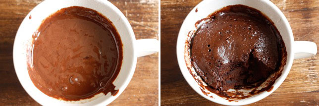 Essenslust Nutella Mikrowellen Jumbotassen Kuchen