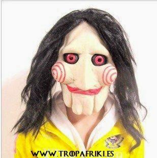 Careta marioneta/payaso Saw 27,90€