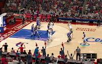 NBA 2K13 L.A. Clippers Court Patch