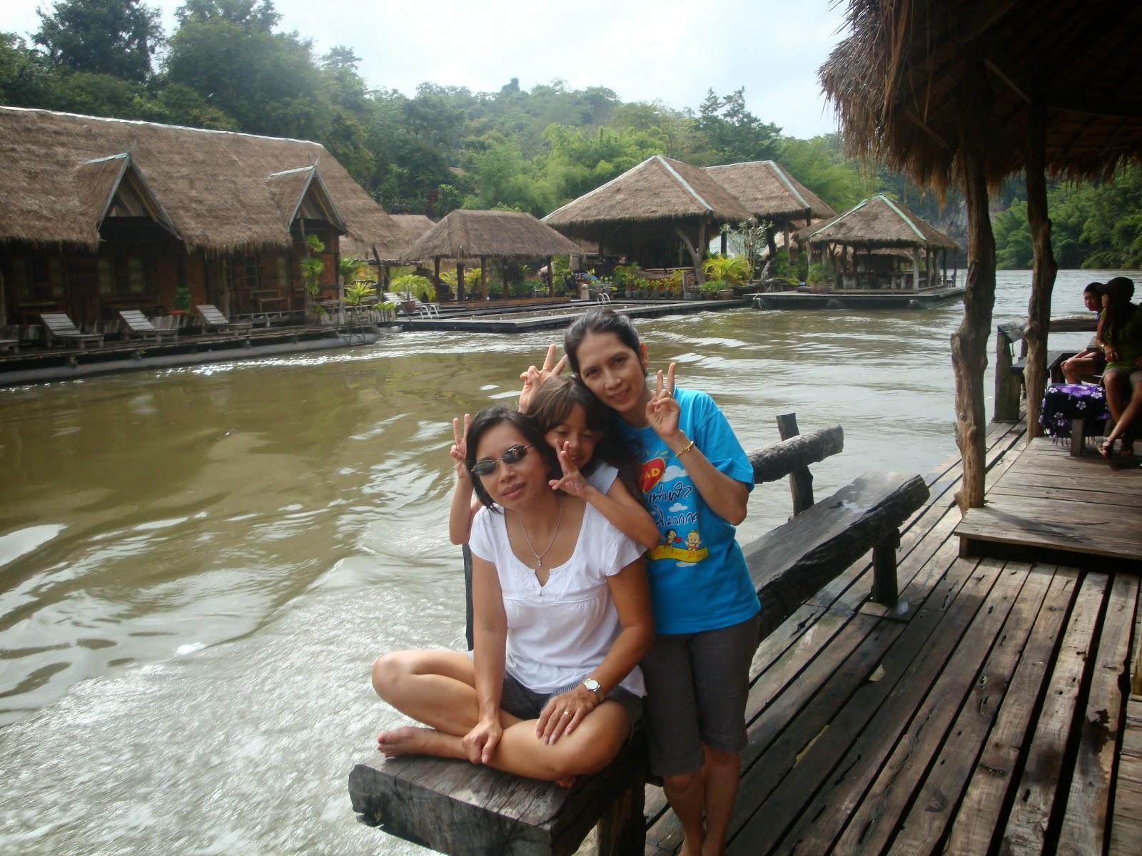 Resort sul fiume Kwai - Kanchanaburi