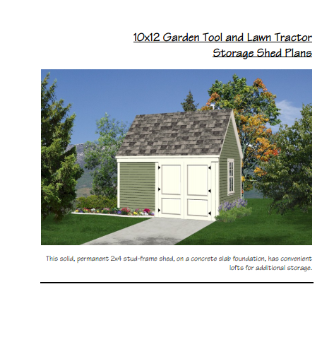 Wood Working Plans Shed Plans And More Garden Tool And