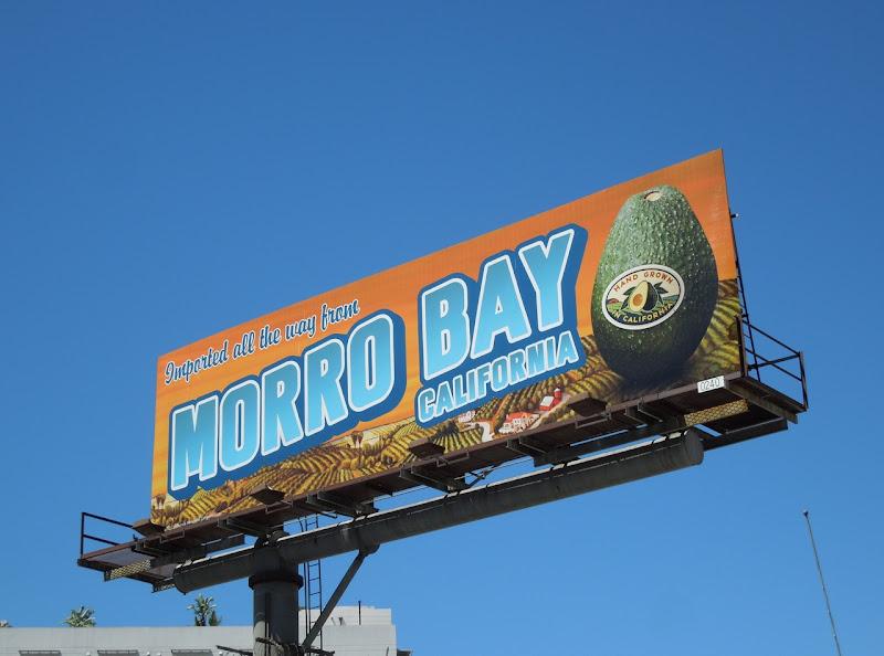 Avocado Morro Bay billboard