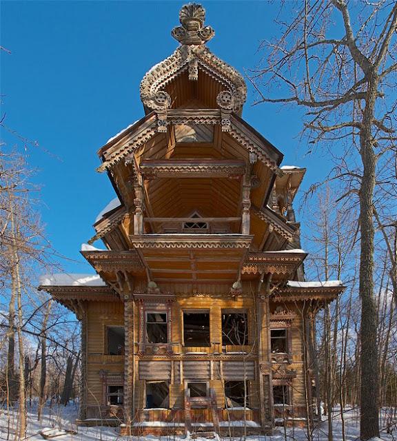 Casas de Madera en Siberia