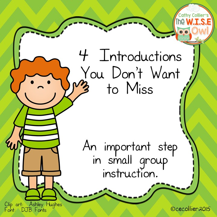 4 Ways To Introduce A Book For Small Group Instruction Virginia Is