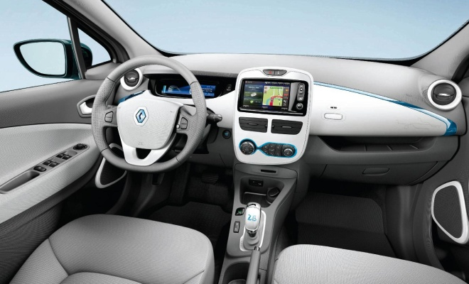 Renault Zoe ZE 2012 interior view