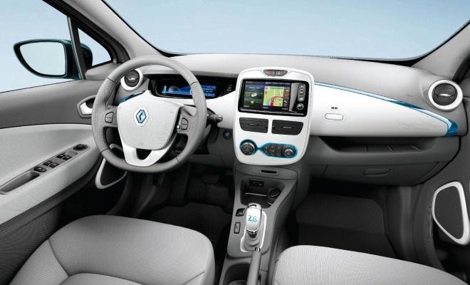 Renault Zoe ZE 2012 interior view