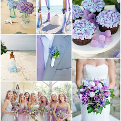 Lavender, Navy and Copper Vintage Wedding   A Hue For Two