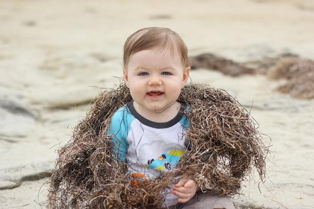 Little Boy Lovin The Beach