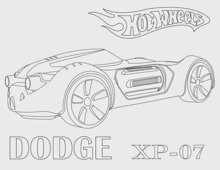 Hot Wheels Coloring Pages 52