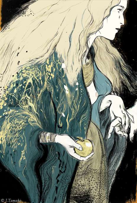 Jillian Tamaki. Irish Myths and Legends
