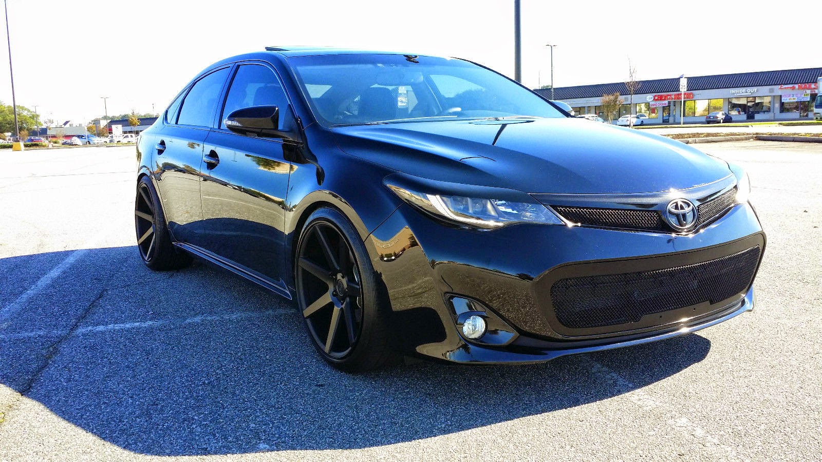 Toyota Corolla 2013 Black Rims 2013 Toyota Avalon All Black