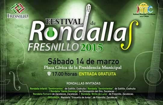 Festival de Rondallas Fresnillo 2015