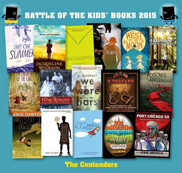 http://blogs.slj.com/battleofthebooks/2015/01/14/the-2015-contenders/