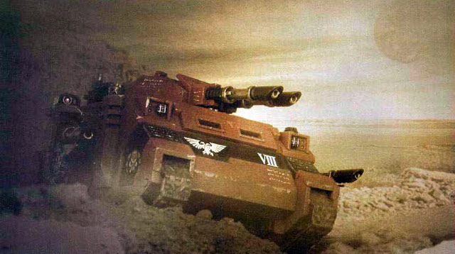 New Rumors.... Astartes Vehicles to Get Chapter Tactics