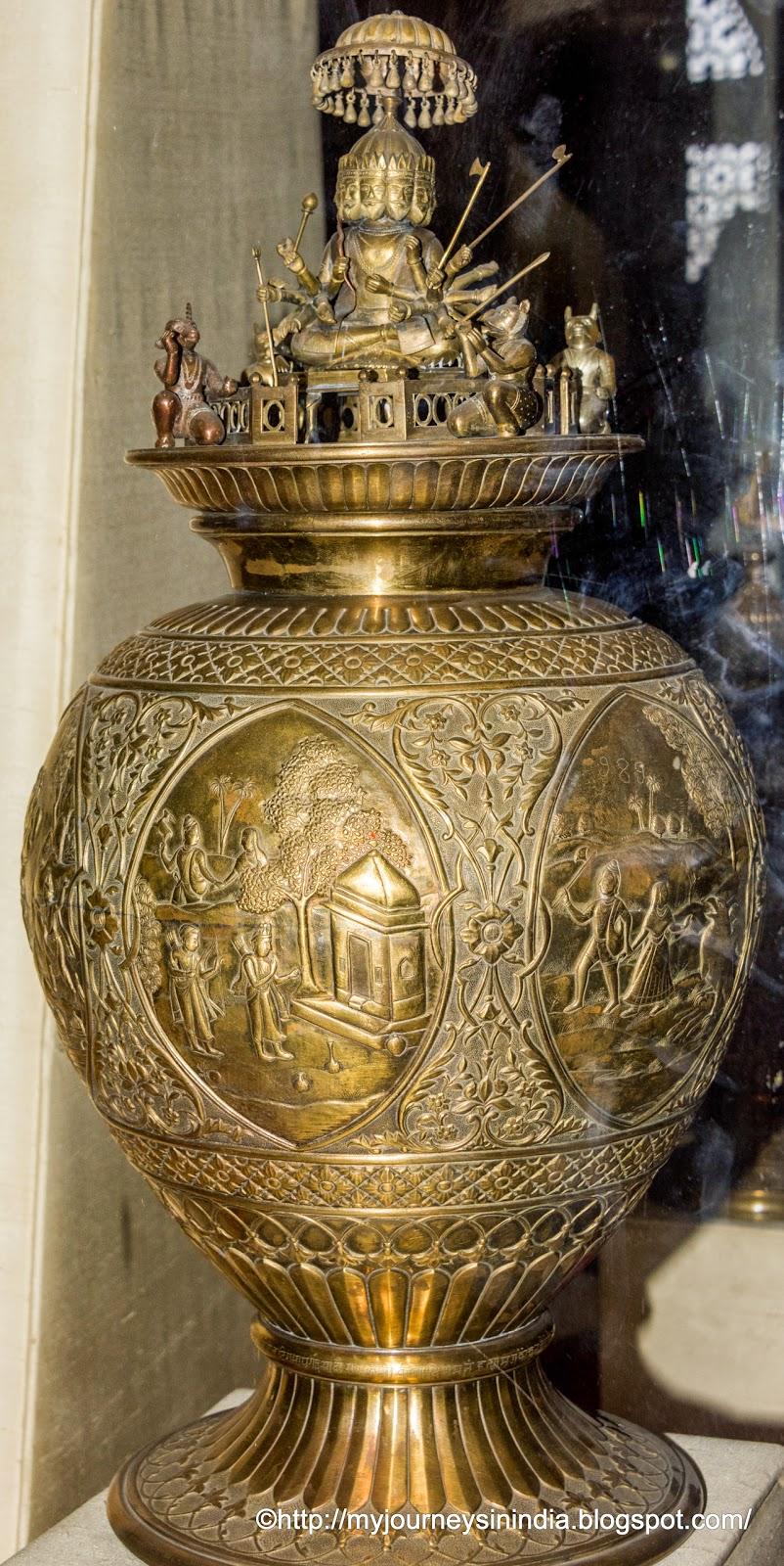 Ramayan Chalice Albert Hall Museum Jaipur