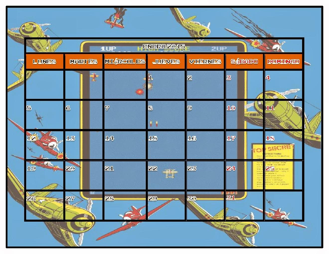 Calendario 2015 PrimyRetro