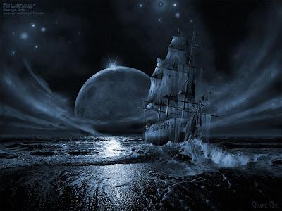 High Quality Desktop Background Dark Ship