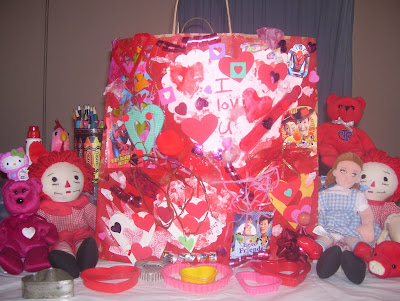Valentine's Sensory Paperbag & Books to Build Self-Esteem