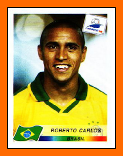 Old school panini coups francs do brazil - Roberto carlos coup franc ...