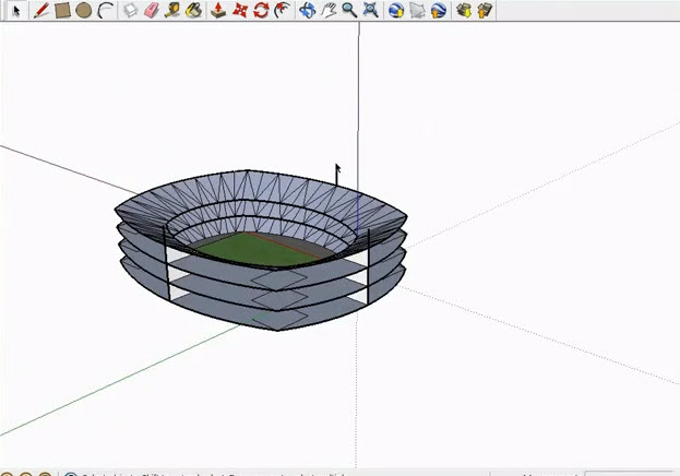3d stadium design widescreen - photo #46