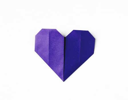 cara membuat origami love simpel spesial hari valentine