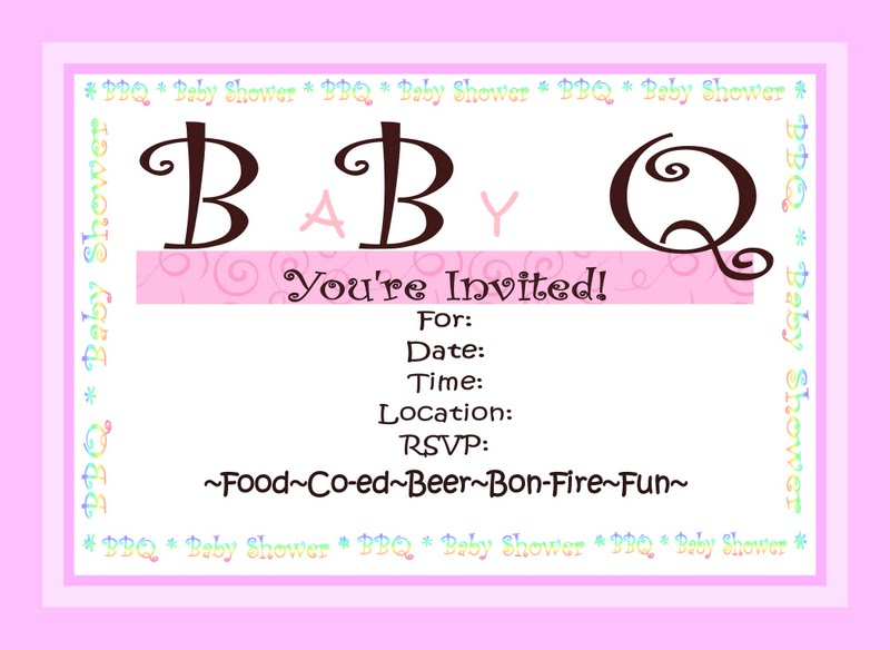 bbq baby shower invitations diy show off diy decorating and
