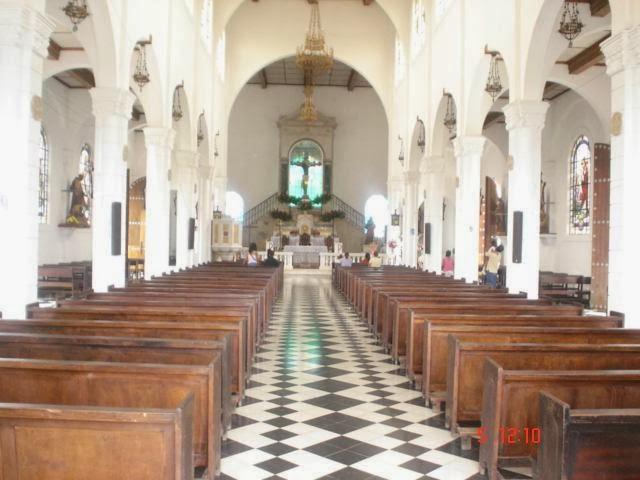 La Iglesia del Cristo Negro en Juayúa, Sonsonate